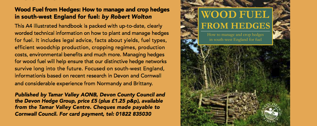 Woodfuel from Hedges