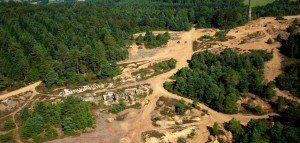 Tamar Valley AONB mining landscape