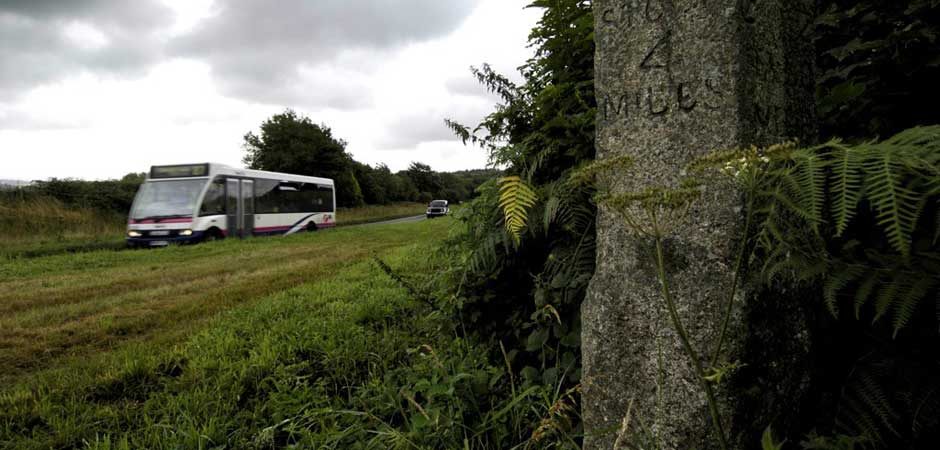 Use the bus to visit the Tamar Valley AONB