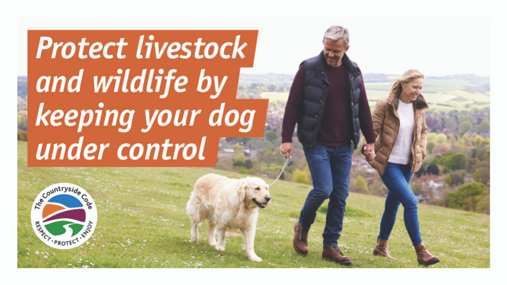 keep your dog under close control, Countryside Code